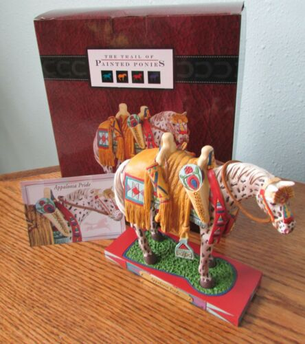 Appaloosa Pride Figurine Trail of Painted Ponies Decorated Horse 1E/1822 NIB!