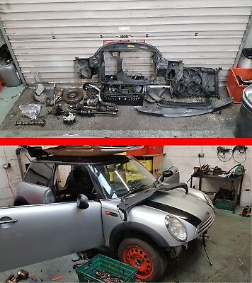 BMW Mini R50 One D Diesel 14 W17 D14A Breaking Spares All Parts Engine etc