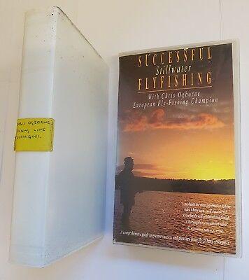 CHRIS OGBORNE SUCCESSFULL STILLWATER FLYFISHING & SINKING LINE TECHNIQUES VHS 2
