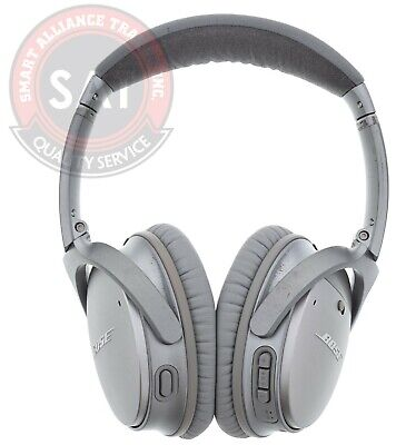 Bose QuietComfort 35 Series II Headband Wireless Headphones Silver Used☝