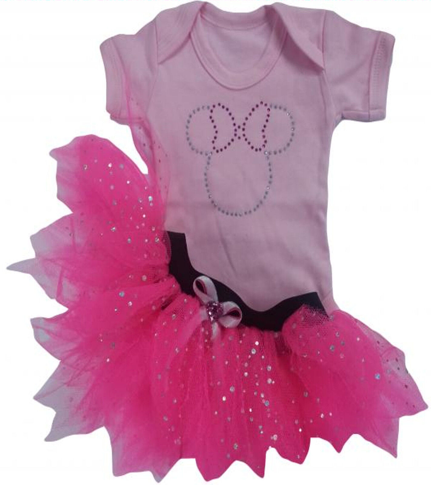BABY GIRL NEON TUTU SKIRT 80S FANCY DRESS PARTY SPARKLE COSTUME