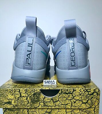 53a22a92a7d ... Nike PG 2.5 PlayStation Paul George PS4 Classic Wolf Grey Mens   Kids  GS Gray фото ...