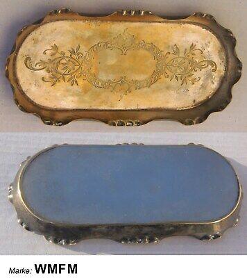 uraltes WMF TABLETT ca.1880-1900 Marke WMFM noch vor Straußenmarke !!!  >RAR< d'occasion  Expédié en Belgium