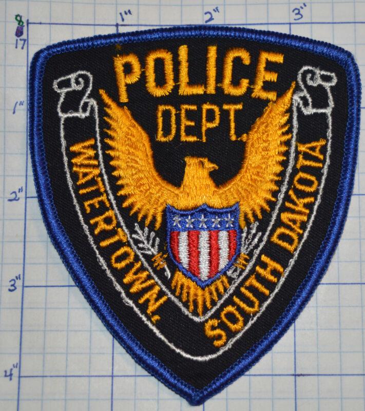 SOUTH DAKOTA, WATERTOWN POLICE DEPT EAGLE PATCH