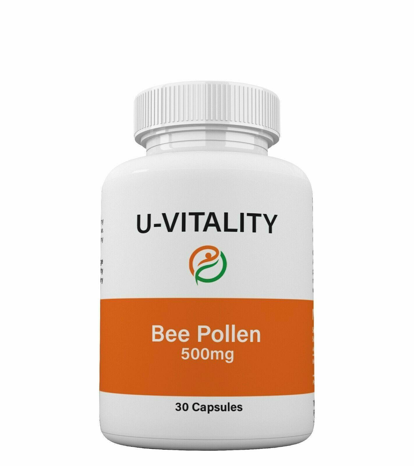 Buy 2 get 1 FREE - Bee Pollen Complex 1000 mg  Vit A,C,E. M 1