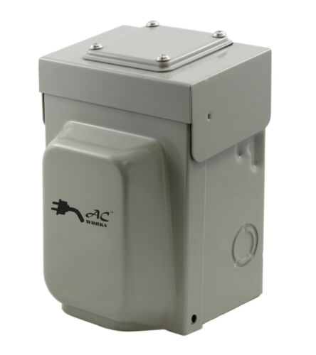 30 Amp NEMA L14-30 Locking Inlet Box by AC WORKS®