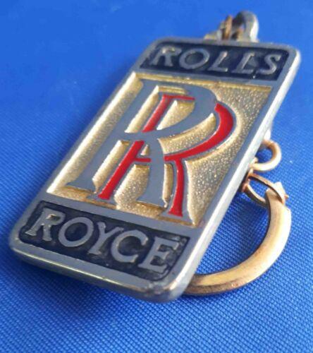 Rolls Royce Car Automobile Vintage Metal Keychain Pendant