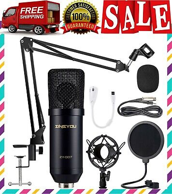 TWITCH MIC STREAMING MICROPHONE PODCAST EQUIPMENT KIT YOUTUBE CHANNEL BEST