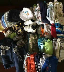 0-3 months boys clothes 42 pcs