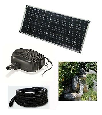 100 W Solar Stream Pump Pond Submersible Waterfall