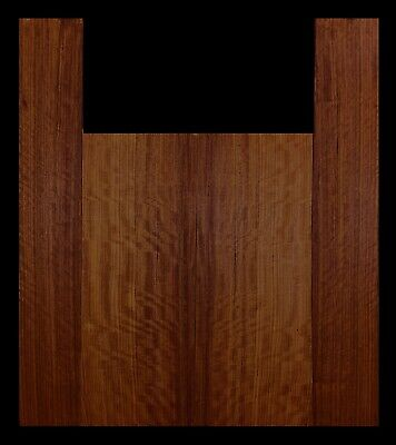 Ovangkol Curly Dreadnaught Size Acoustic Guitar Shed Tonewood Set OV06