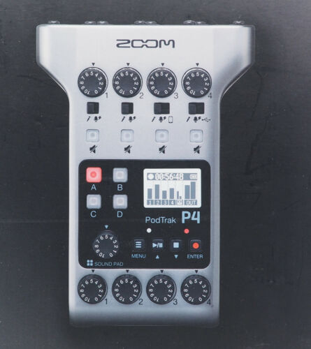 Zoom PodTrak P4 Podcast Recorder NEW SEALED