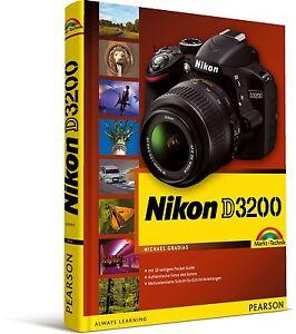Nikon D3200, mit 12seitiger Klappkarte Markt & Technik NEU