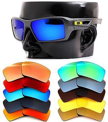 Polarisiert Ikon Iridium Ersatzgläser für Oakley Augenklappe 2 Sonnenbrille