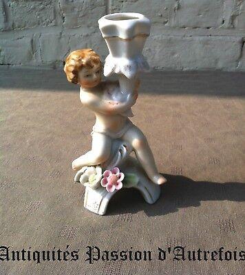 B20130615 - Petit bougeoir en porcelaine - Très bon état