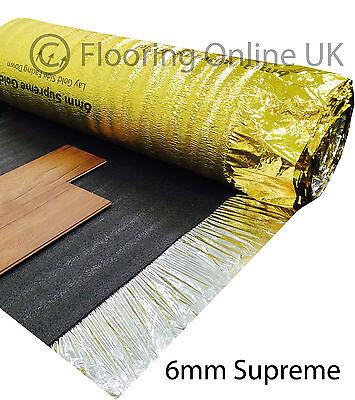 5mm Or 6mm Sonic Gold Underlay Wood Laminate Flooring