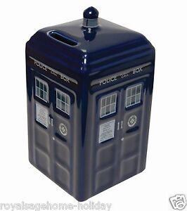 Dr163 doctor who tardis savings piggy bank time machine bbc police call box - Tardis piggy bank ...