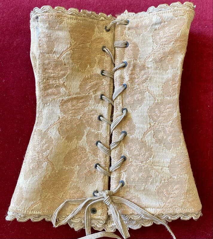 Antique Boned Corset For French Or German Bisque Baby Doll