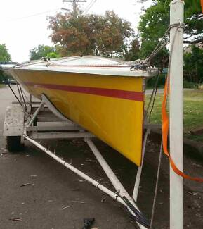 Northbridge Senior 14 – NS14 Skiff – Sailing Dinghy