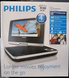 Philips portable DVD player, region-free.
