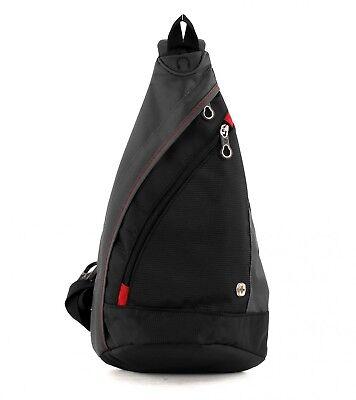 WENGER Accessories Mono Sling Bag Tasche Schultertasche Herren Schwarz Neu