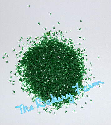 - GREEN EDIBLE SANDING SUGAR CAKE POP COOKIE CUPCAKE DECORATION PARTY 4 OZ