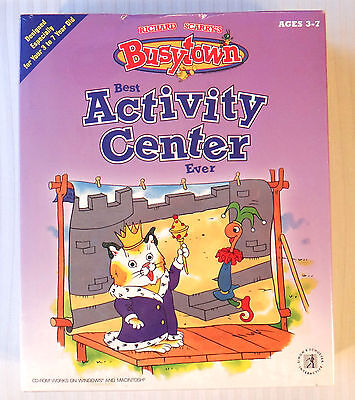 Richard Scarry's BusyTown: Best Activity Center Ever ~ NEW SEALED ~ PC (Best Game Pc Ever)
