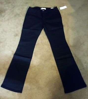 NO BOUNDARIES WOMEN'S JUNIOR BOOT CUT BLACK STRETCH JEANS ASSORTED SIZES NWT