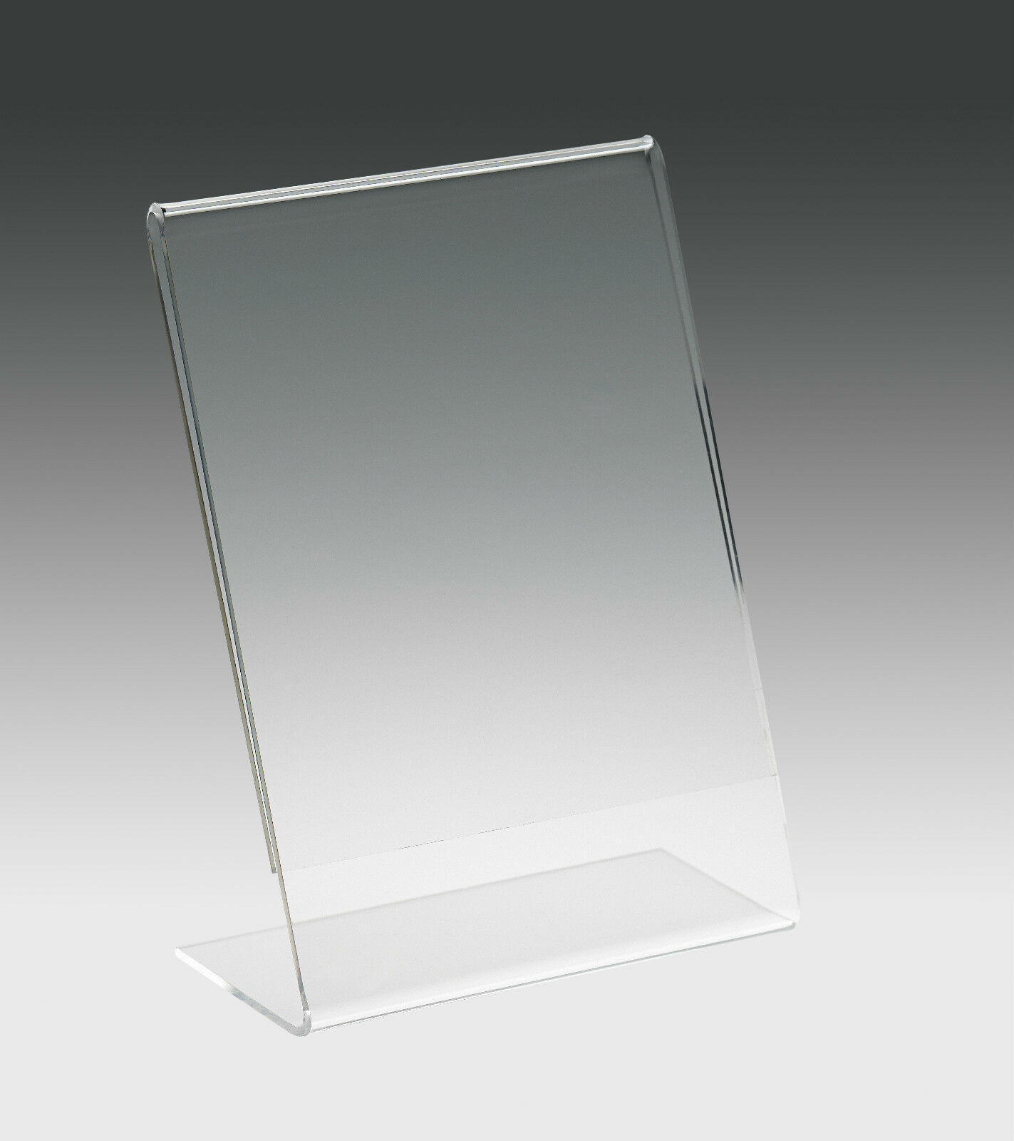details about a4 a5 a6 a7 a8 a9 acrylic menu holder perspex poster display stand sign holder