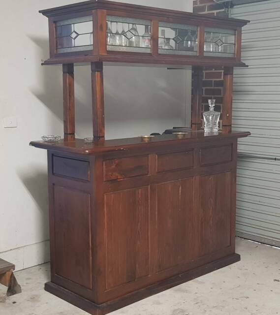 Solid Timber Free Standing Home Bar Other Furniture Gumtree