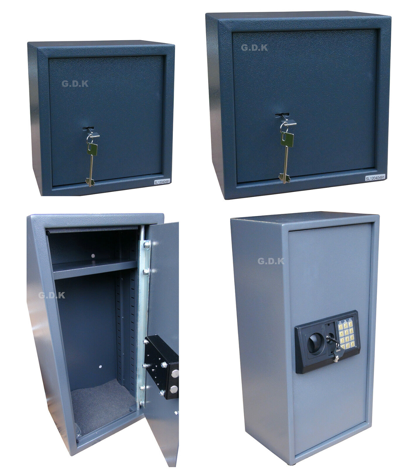 MEDIUM, LARGE & X-LARGE, AMMUNITION SAFE, AMMO SAFES, GUN AMMO ...