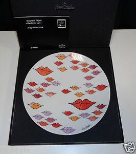 rosenthal andy warhol wandteller lips 24 cm neu ovp 1 wahl ebay. Black Bedroom Furniture Sets. Home Design Ideas