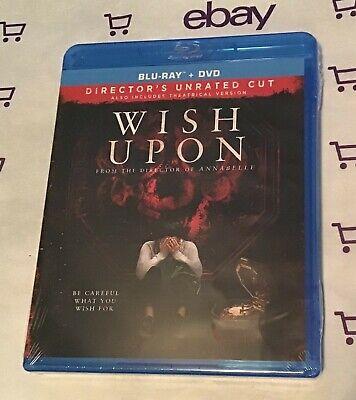 Wish Upon (Blu-Ray + DVD 2017) Brand New! Ryan Phillippe | Joey - Business Halloween Wishes