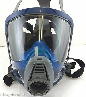 Msa Advantage 3000 40mm Nato Gas Maskrespirator Wnbc Filter Nibexp 62022