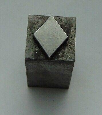Vintage Printing Letterpress Printers Block Playing Card Diamond