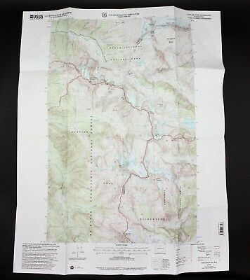 VTG 1999 Cascade Pass Washington USGS Topographical Map TOPO WA 7.5 Minute