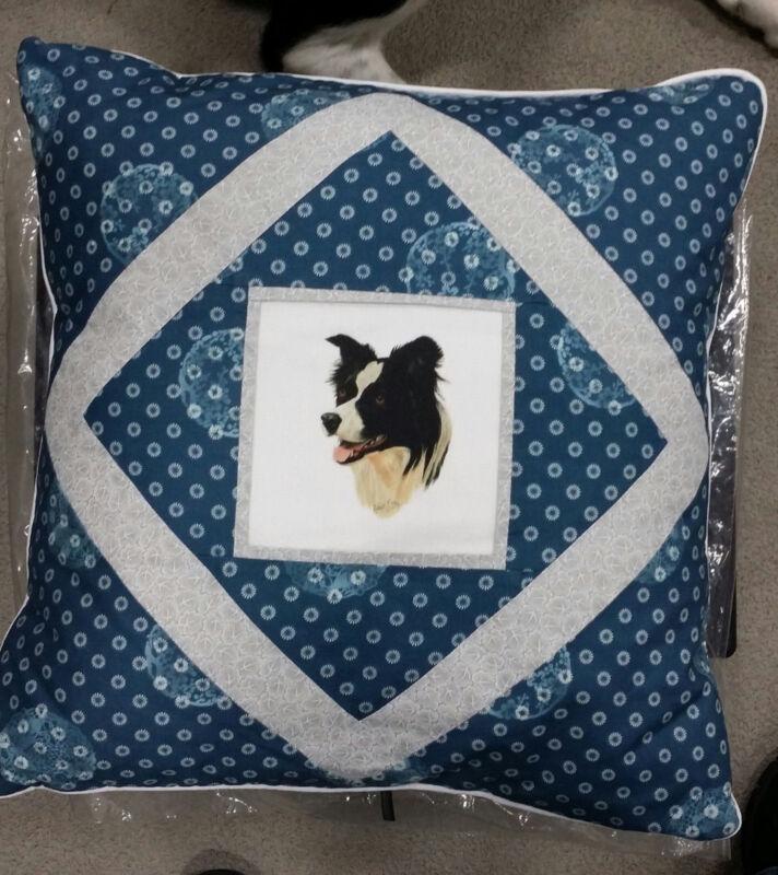 "Border Collie Pillow ""NEW""-CUSTOM"