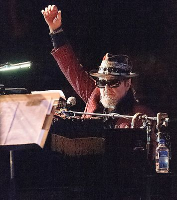 "DR JOHN IN CONCERT by Steve Carlisle 12"" x 12"" Clearwater Jazz Holiday 2014"