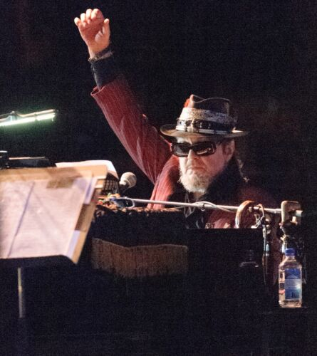 """DR JOHN IN CONCERT by Steve Carlisle 12"""" x 12"""" Clearwater Jazz Holiday 2014"""