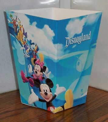Disneyland Popcorn Box 3. Mickey Mouse Gang On Roller Coaster. Free Shipping