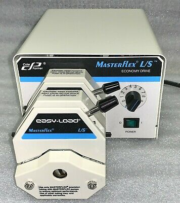 Cole-parmer Masterflex Ls Variable-speed Peristaltic Pump With Warranty
