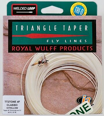 Royal Wulff Triangle Taper Plus Fly Line Streams of Dreams Fly Shop