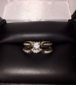 ❤️Engagement and Wedding Ring Set❤️