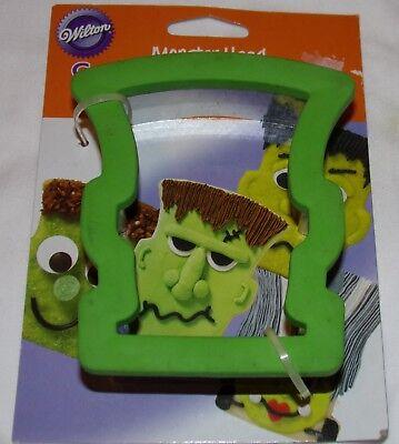 Wilton Monster Kopf Komfort Griff Keksausstecher Frankenstein Halloween (Wilton Griff Ausstechformen)