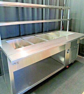 Refrigerated Cold Food Buffet Salad Bar Aladdin J713b