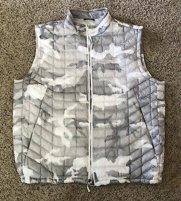 Men's The North Face Camo Puffer Vest Size 2XL