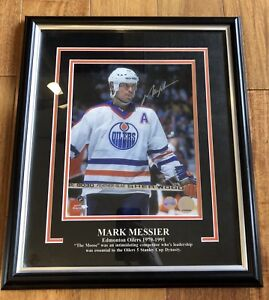 Mark Messier Signed photo