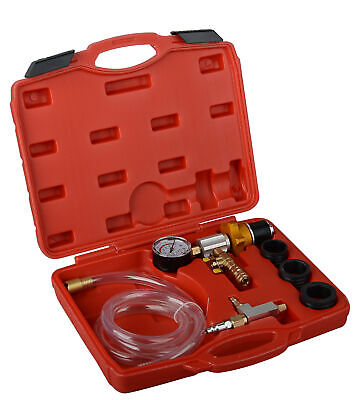Auto Engine Vacuum Coolant Cooling System Purging Tool Kit Refill Refilling