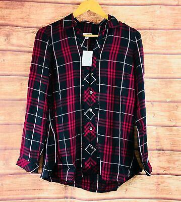 NEW J Jill Black Multi Yarn Dyed Plaid Long Sleeve Shirt - ALL SIZES Yarn Dyed Plaid Shirt