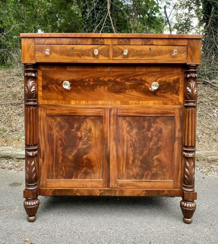 American Classical Empire Mahogany Jackson Press / Server